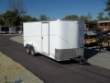 7 X 16 PACE AMERICAN ENCLOSED TRAILER EXTRA HEIGHT