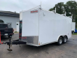 2020 DISCOVERY 8.5' X 16' ROVER SE 10K ENCLOSED TRAILER W/ LADDER RACKS