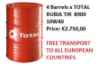 2017 TOTAL RUBIA TIR 8900 10W-40