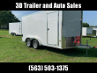 """2019 CARGOPRO TRAILERS 7.5' X 14' X 6'9"""" STEALTH EXTRA TALL ALUMINUM"""