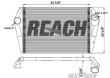FORD L9000 CHARGE AIR COOLERS