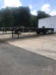 1998 FONTAINE 48X102 FLATBED TRAILER - WOOD FLOOR, SPREAD AXLE, TOOLBOX, SPARE TIRE RACK