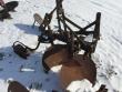 JOHN DEERE 2 FURROW DISC PLOW THREE POINT HITCH