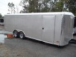 8.5X22 10K V-NOSE WHITE W RAMP AND SIDE DOOR PEWTER