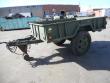 M105A2 1 1/2 TON CARGO TRAILER