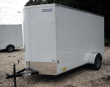 2019 CONTINENTAL CARGO NS712SA, 7X12 FT. ENCLOSED TRAILER, SINGLE AXLE, 3.5K RATED