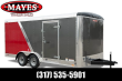 2022 CARGO MATE BL718TA2 ENCLOSED CARGO TRAILER - 7X18 TA - RAMP DOOR - POLY SIDES - TORSION AXLES (GVW: 7000)