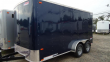 "2020 PACE AMERICAN 7X14 OB TE2 6""X RAMP BLUE ENCLOSED CARGO TRAILER"