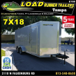 2019 LOAD RUNNER ENCLOSED CARGO TRAILER EV7-18T3-R