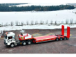 LOW LOADER SEMI-TRAILER OZGUL HEAVY DUTY LOWBED TRAILER WITH LINE