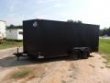 2019 COVERED WAGON TRAILERS 7X16 BLACKOUT RAMP DOOR ENCLOSED CARGO TRAILER STOCK# ECCW1074