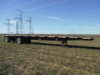 2016 DIRECT TRAILER DT1000S 48X102 FLATBED TRAILER - AIR RIDE, SPREAD AXLE, STEEL