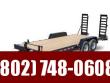 2021 KAUFMAN TRAILERS 20' DELUXE WOOD FLOOR EQUIPMENT TRAILER 15000 GVW