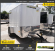 *E1C* 5X8 ENCLOSED TRAILER CARGO TRAILERS 5 X 8 | EF5-8S3-R