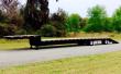 "DORSEY 53' X 102"" STEEL DROP DECK DF53-BTR W/ BEAVER TAIL DROP DECK TRAILER"
