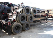 CHASSIS GOOSENECK STRICK 40' , SPRING SUSPENSION, STEEL COMPOSITION, ALL STEEL WHEELS, FIXED TANDEM AXLE, LIKE NEW!