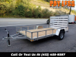 2020 STEALTH 6.5X12 MOTORCYCLE TRAILER, LANDSCAPE TRAILER, ATV TRAILER