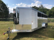 2020 EXISS EXHIBITOR 720W BP LIVESTOCK TRAILER LINED/INSULATED & AC