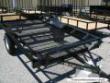 CARRYON 7X10 ATV SIDE LOAD SINGLE AXLE BLACK