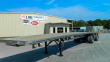 REITNOUER 48X102 ANNIVERSARY SPECIAL ALUMINUM FLATBED TRAILER - AIR RIDE SPREAD AXLE