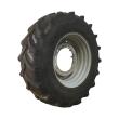 420/90R30 GOODYEAR FARM DT800 OPTITRAC R-1W ON AGCO CORP GRAY 12-HOLE WAFFLE WHEEL (GROUPS OF 2 BOLTS) WHEEL