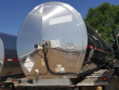1996 BRENNER TANK TRAILER, SPRING SUSPENSION, TANDEM REAR AXLES, STAINLESS STEEL