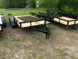 """2021 P&T TRAILERS 77"""" X 12' TANDEM AXLE UTILITY"""