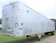 EAST 50X102 TANDEM AXLE ALUMINUM REFUSE TRAILER - SPRING, FIXED AXLE