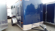 2020 PACE AMERICAN 6X12 OB SI2 BLUE ENCLOSED CARGO TRAILER