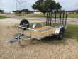 2019 GR TRAILERS SINGLE AXLE UTILITY TRAILER 3,500 LB UT6010W03L