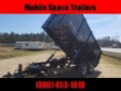 """DOWN 2 EARTH TRAILERS 7X14 48"""" HIGH SIDE 14K DUMP TRAILER STOCK# DUDTE714-79712"""