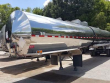 2000 USED POLAR 307/407 TANK TRAILER, STAINLESS STEEL, TANDEM REAR AXLES, SPRING SUSPENSION