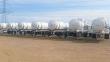 TIGER DOT 407-412/SP12516 COMPOSITE / FRP TWO COMPARTMEN CHEMICAL / ACID TANK TRAILER