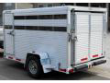 TRAILER - LIVESTOCK AND/OR UTILITY FLAT BED