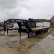 "LOAD TRAIL 102"" X 32' EQUIPMENT TRAILER WITH HYDRAULIC DOVE"