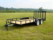 2020 ANDERSON MANUFACTURING, . LST 10' UTILITY TRAILER, CAR