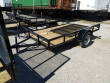 2020 P&T TRAILERS 6' X 10' SINGLE AXLE A-FRAME