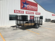 "2019 X-ON 12 FT. 77"" SINGLE AXLE LANDSCAPE TRAILER"