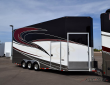 2015 RENEGADE 27' V-NOSE STACKER TRAILER
