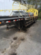 2013 PITTS 30FT LOWBOY 35 TON TRAILER - 26FT WELL, 4FT BEAVERTAIL & RAMPS, FIXED NECK