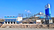 2019 FABO POWERMIX-130 FIXED CONCRETE MIXING PLANT