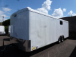 2019 CONTINENTAL CARGO 8 X 24 10K CAR HAULER RAMP WHITE