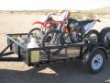 6' X 10' MOTORCYCLE/UTILITY TRAILER