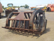"""WB 111"""" WIDE ROOT RAKE WITH TOP CLAMP 544,H,K BUCKET"""
