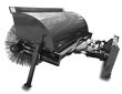 "2020 UNLIMITED FABRICATIONS 72"" MANUAL EXTREME ANGLE BROOM"