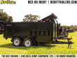 6X12X4 RED HOT TRAILERS | DUMP TRAILER