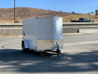 2021 LOOK CARGO TRAILER ENCLOSED TRAILER, MOTORCYCLE TRAILER