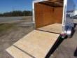 COVERED WAGON TRAILERS 7X12 MCP RAMP DOOR ENCLOSED CARGO TRAILER STOCK# ECCW712-9000