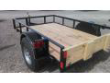 5X8 UTILITY TRAILER WITH LED LIGHTS