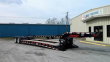 PITTS LB35-22DC 35 TON LOWBOY TRAILER - DETACH, 25' WELL, LOAD BEARING COVERED FENDERS